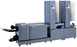 Optional online collating towers for Duplo DBM120