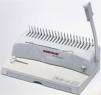 Renz Private Bind Comb Binding Machine